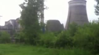 Охладителя на ТЕЦа се срути от земетресението в Перник