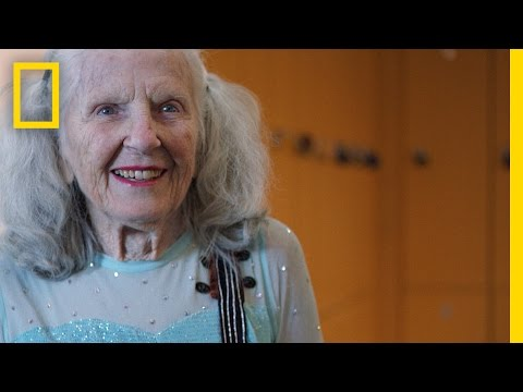 90-Year-Old Figure Skater Will Warm Your Heart with Her Amazing Talent | Short Film Showcase