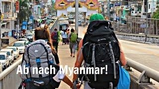 Von Thailand nach Myanmar per Landweg - E Visa - VLOG