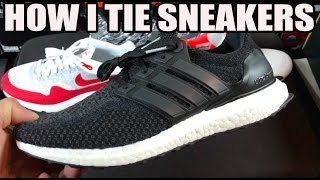 HOW TO TIE SNEAKERS
