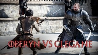 Red Viper vs The Mountain Game of Thrones SO4EP8