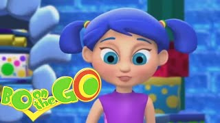 💜🌈 Bo On The Go - Bo and The Unwrapping Chappy | Cartoons for Kids 🌈💜