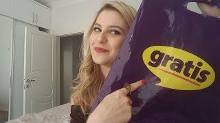 İndirimden Aldıklarım#3| GRATİS| 8 Mart dünya kadınlar günümüz kutlu olsun :)