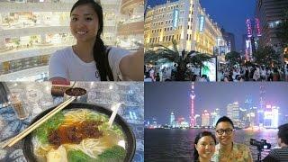 Shanghai Vlog: Exploring Nanjing Road, The Bund & Bund Sightseeing Tunnel! Pt. 2