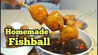 Homemade Fishball with Sauce