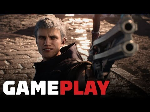 Xxx Mp4 15 Minutes Of Devil May Cry 5 Gameplay On Xbox One X Gamescom 2018 3gp Sex