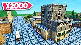 TILTED TOWERS but BOUNCE PADS! (x2000 Pads) - Fortnite Funny Fails and WTF Moments! #323