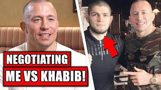 GSP reveals Khabib fight negotiations started 3 months ago, Jones on Anthony Smith UFC 235, Bisping