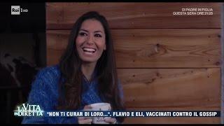 Briatore-Gregoraci, crisi rientrata? La Vita in Diretta 18/04/2017