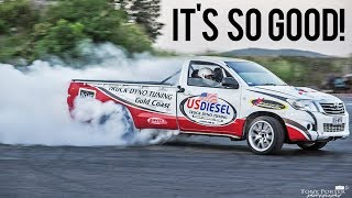 Drifting a 750HP Sequential Pickup Truck!