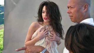 Miley Cyrus: Vanity Fair Shoot [Behind The Scenes]