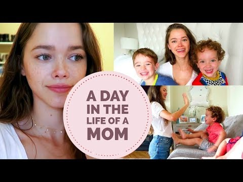 A day in the life of a mom   Vlog