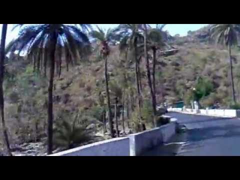 Way from mount abu1 to abu road.