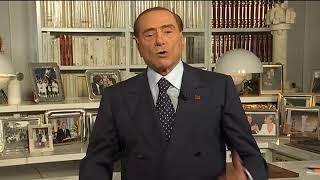 Silvio Berlusconi ringrazia gli elettori Siciliani per l'elezione di Nello Musumeci