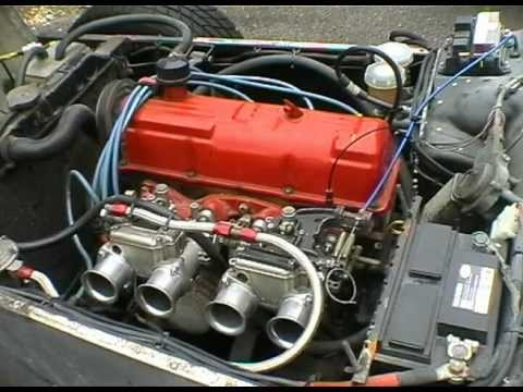 Tuned 2.1l Ford Pinto SOHC in anger