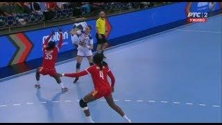 Cameroon vs Serbia 21:34 (9:20) Second Half | Handball Women's Championship 2017