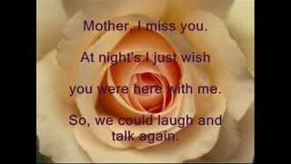 Mother I Miss You Lyric Video