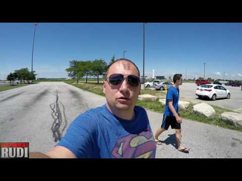 Meeting up with a Friend at Master Steak TRUCKER RUDI 07/15/17 Vlog#1131