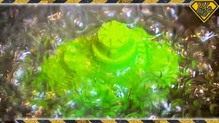 We Boiled Green Kinetic Sand