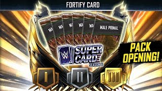 FORTIFY PRO PACK OPENING!! | WWE SuperCard Season 6