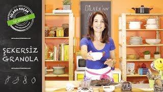 Şekersiz Granola | Dilara Koçak | Afiyetle Diyet