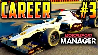 MUCH IMPROVED PERFORMANCES!  - Motorsport Manager PC Career S3 PART 3