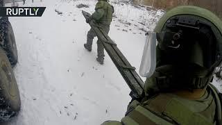 اختبارات بدلة قتالية روسية متطورة!