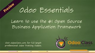 Odoo Essentials - Learn the basics on how to use Odoo 8 for your business