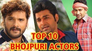 Top 10 - Bhojpuri Hero 2018 | टॉप 10 भोजपुरी हीरो | Khesari Lal Yadav, Pawan Singh, Dinesh Lal Yadav