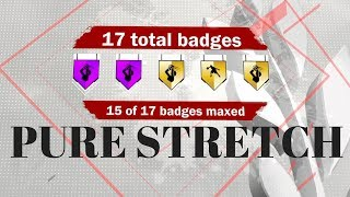 NBA 2K18 MAXED OUT BADGES AND ATTRIBUTES FOR PURE STRETCH