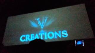Theri FDFS theater reaction in Salem.Ilayathalapathy Vijay title card.