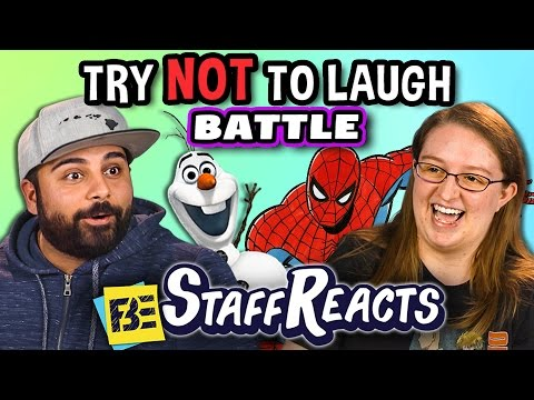 Try to Watch This Without Laughing or Grinning Battle 2 ft. FBE Staff