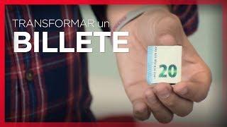 Cómo TRANSFORMAR papel en BILLETES  - Truco de magia con dinero 💸 💸