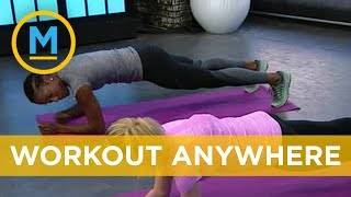 At-home workouts with Olympic medalist Phylicia George | Your Morning