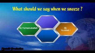 Islamic General Knowledge Quiz - Part 1