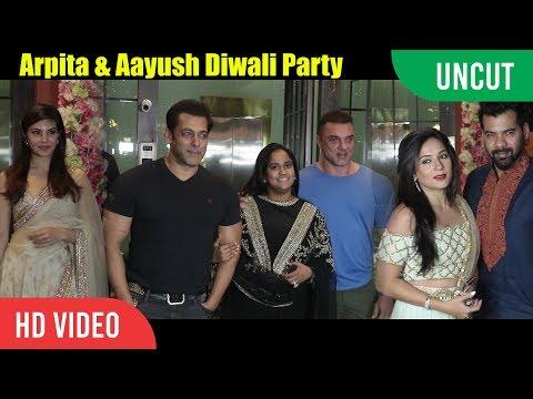 Xxx Mp4 UNCUT Salman Khan Sister Arpita39s Grand Diwali Party Salman Khan Jacqueline Shabir Ahluwalia 3gp Sex