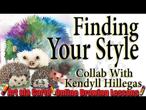 4 points in finding your ART Style  Collab with Kendyll Hillegas