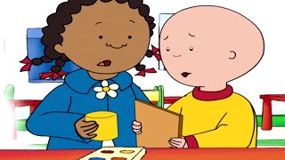 Funny Animated Cartoon Caillou | A Present for Mommy |  Animated Funny Cartoons for Children