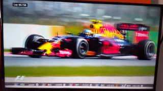 Verstappen Wins Spainish GP Final Lap