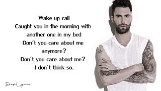 Maroon 5 - Wake Up Call (Lyrics) 🎵