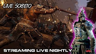 For Honor Gameplay Live S08E10 12/30/2017