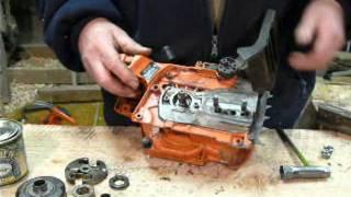 Husqvarna chain oil leak repair 346