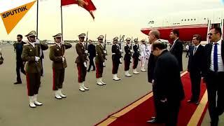 استقبال از اردوغان در ایران