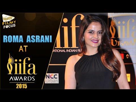 Xxx Mp4 Actress Roma Asrani At IIFA Awards 2015 IIFA Utsavam 2016 Pics Filmy Focus 3gp Sex