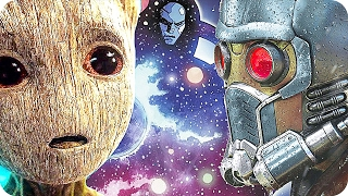 GUARDIANS OF THE GALAXY New Easter Eggs!   James Gunn