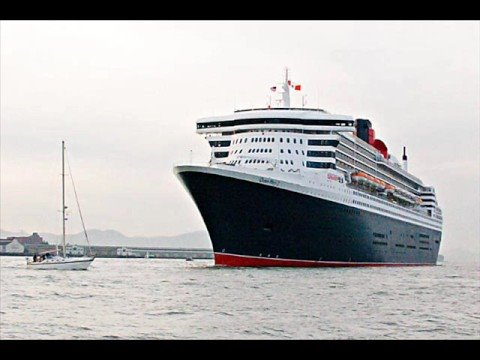 RMS Queen Mary 2 O 3° Maior transatlântico do mundo