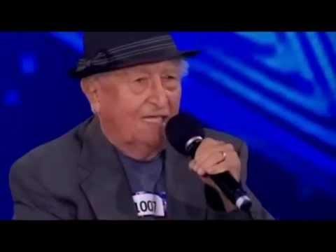 Por momentos se rien de este señor de 83 años pero despues los hace llorar en programa de Talento