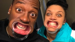 MOUTHGUARD CHALLENGE! (SPEAK OUT CHALLENGE)