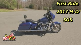 First Ride On A 2017 Harley-Davidson Milwaukee Eight Street Glide Special