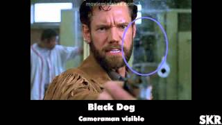 Movie Mistakes: Black Dog (1998)
